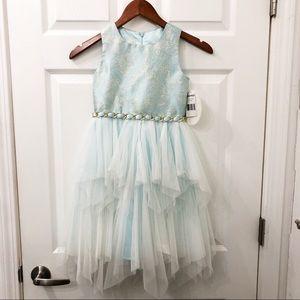 NWT American Princess blue dress size 7